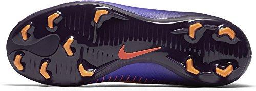 Nike 831945-585, Chaussures de Football Garçon PRPL DYNSTY/BRGHT CTRS-HYP