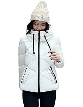 KOROWA Inverno Donne Giù Giacca Cotone Top Cappotto imbottito Cappotto Zipper Outwear