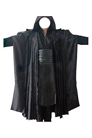 Star Wars Kostüm Darth Maul Kostüm Sith Kostüme für Erwachsene Schwarz XS