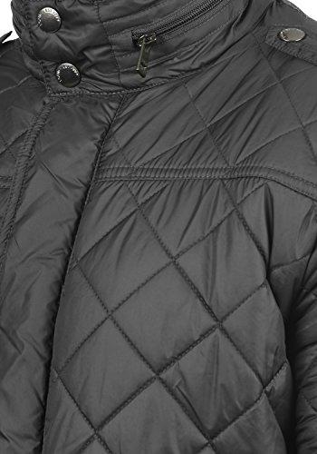 !Solid Safi Herren Steppjacke Übergangsjacke Jacke Mit Stehkragen, Größe:S, Farbe:Dark Grey (2890) - 4