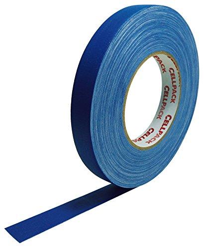 Cellpack 146046900.305-19-50, Stoff-Band, beschichtete Baumwolle, Blau