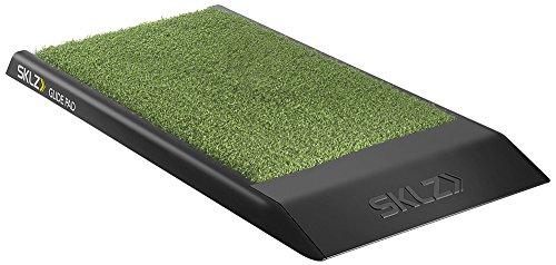 SKLZ Glide Pad Piattaforma Portatile per l'Allenamento del Golf, Nero/Verde
