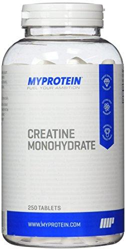 Monohydrat Kreatin Tabletten (Myprotein Creatin Monohydrat  250 Tabletten, 1er Pack (1 x 250 g))