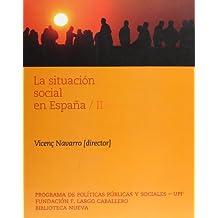 La situación social en España (II): 2 (Libros singulares)