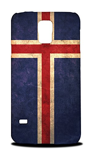 Price comparison product image Foxercases Design Iceland Country Flag Hard Back Case Cover for Samsung Galaxy S5