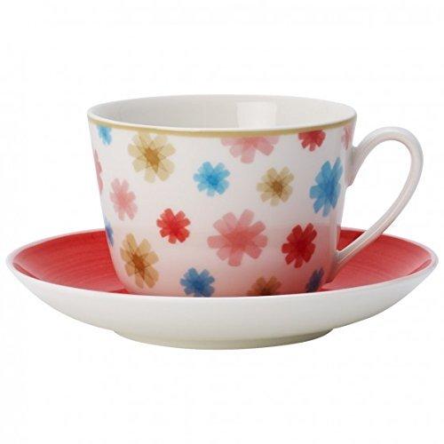 Villeroy & Boch Lina Cherry Kaffee-/Teetasse mit Untertasse 2tlg. -