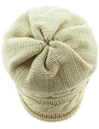 Hip-Hop Damen Herren Mädchen Jungen Unisex Slouch Beanie Wintermütze Mütze Strickmütze Wollmütze Cap Hat Barett in verschiedenen Farben