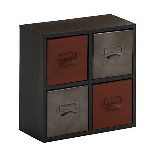 Vintage Caja de Almacenamiento 2403625 Negro