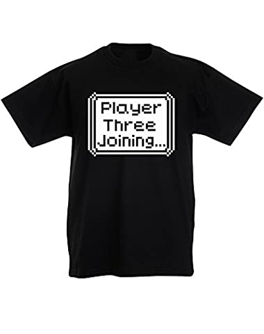 Player Three Joining..., Enfant T-shirt imprimé - Noir/Transfert 12-13