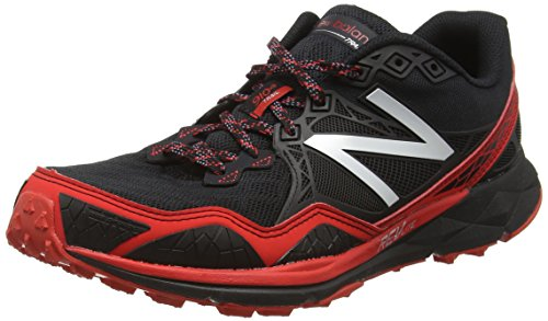 New Balance MT910BR3-910, Zapatillas de Running para Asfalto para Hombre, Multicolor (Black/Red 009), 41.5 EU