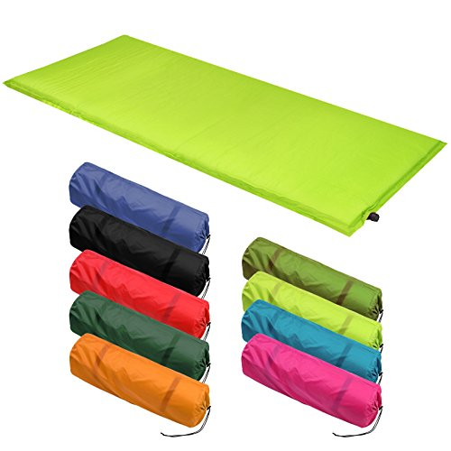 Isomatte Selfinflating - Matte verschiedene Größen, Farbe:lime;Maße:200 x 66 x 10 cm