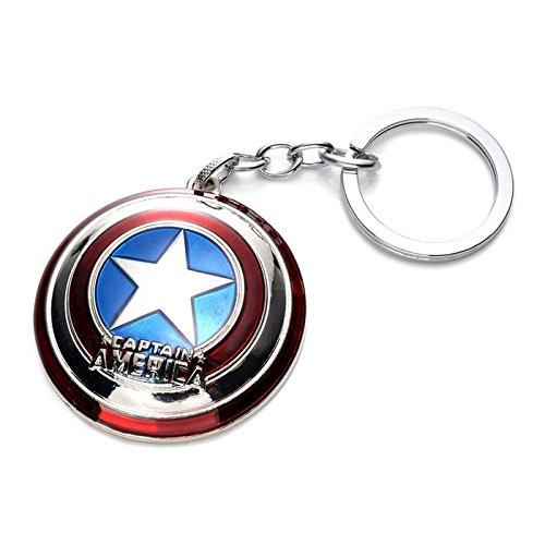 zhongqiang Anime Avengers Model, Captain America Keychains, Pendants