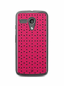 YuBingo Dot Dot Dot Designer Mobile Case Back Cover for Motorola G