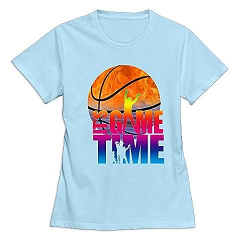 Onlyprint Women's Basketball Still Game Time 1 T Shirt Size