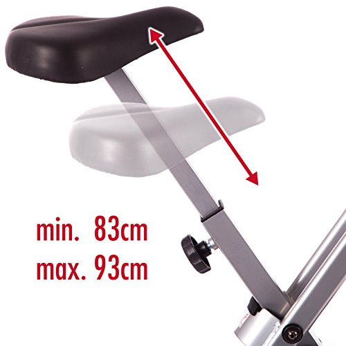Ultrasport - Bicicleta estática plegable