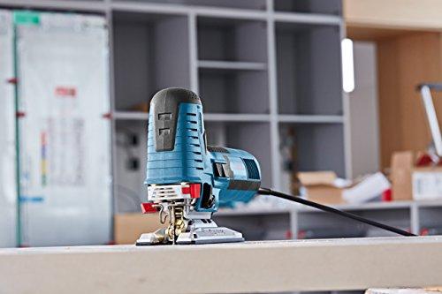 Bosch Professional GST 160 CE Stichsäge, 3x Sägeblatt, max. 160mm Schnitttiefe, 800 W, L-Boxx -