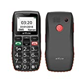 Best Senior Cell Phones - ARTFONE C1 GSM Big Button Mobile Phone Review