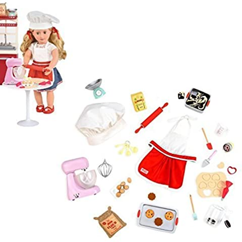 Our Generation Home Accessory - Master Baker Set for 18 Dolls by Our Generation