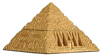 Egyptian Pyramid Trinket Box - Collectible Figurine Statue Figure
