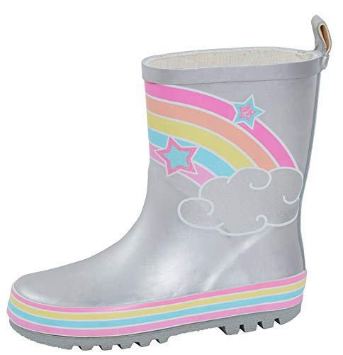 Lora Dora Boys Girls Mid Calf Wellington Rain Boots