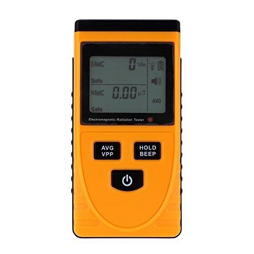 KKmoon Digital LCD Elektromagnetische Strahlung Detektor Meter Dosimeter Tester Zähler Test