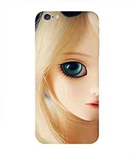 Pretty Girl Printed Back Cover for Iphone 6