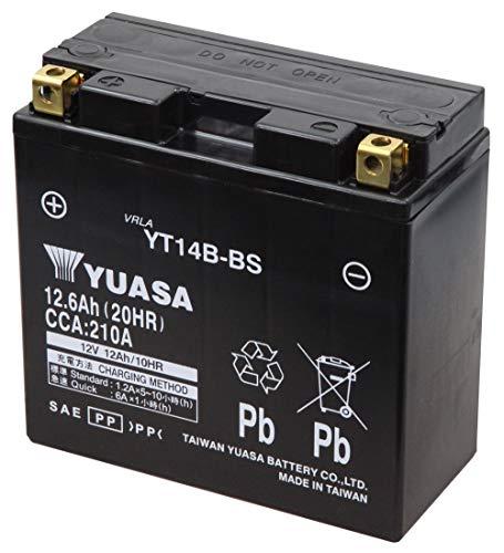 Comprend LAcide YT14B-BS Moto Exide Batterie 12ah 12v
