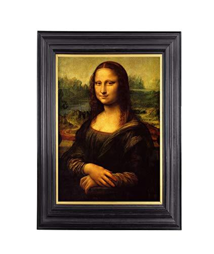 Leonardo da Vinci Mona Lisa Premium Kunstdruck, Reproduktion, 43 x 61 cm Kunstdruck mit Archivtinte und professionellem Papier. - Lb 60 Papier