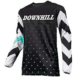 Uglyfrog Invierno Térmico Maillot Ciclismo Hombres Downhill/MX/MTB Jersey Element-Colour Designs Shirt Enduro Quad