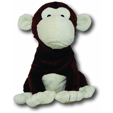 Plush Pals Monkey - Manos libres para teléfono y altavoz para MP3 en forma de peluche