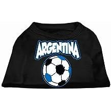 Mirage Argentina Soccer serigrafia cane camicia
