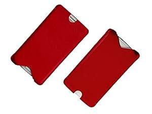 ATV Genuine Leather Pouch For Xiaomi Mi 2S (Red)