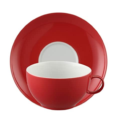 Thomas 10850-408525-29173 Set 2 Cappuccinotassen Sunny Day New Red