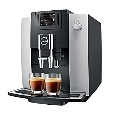 JURA 15079 E6 Coffee Machine, Platinum [Energy Class A]
