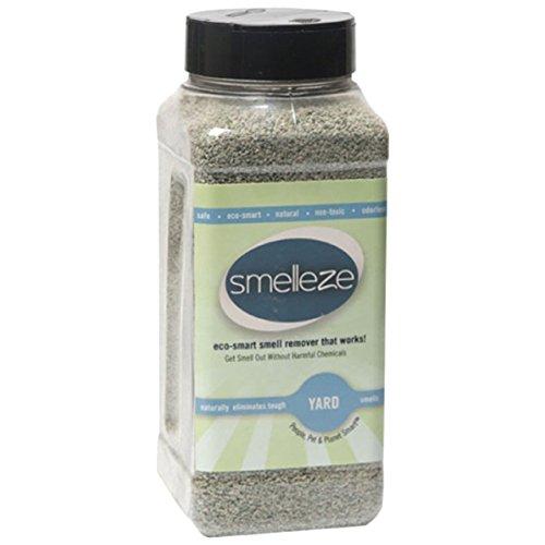 SMELLEZE natur Yard Geruchsentferner Parfum: 2 Lb. Granulat eliminiert Outdoor Geruch (Urin Deodorizer Hund)