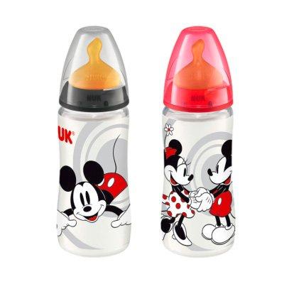 Nuk Biberon First Choice Disney Mickey Mouse 0%BPA