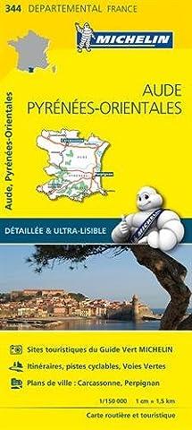 Pyrenees Michelin - Carte Aude, Pyrénées-Orientales