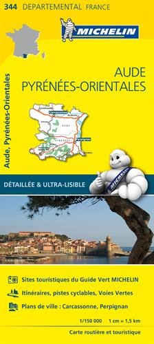 Descargar Libro Carte Aude, Pyrénées-Orientales Michelin de Collectif Michelin