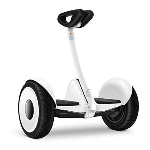 SEGWAY e-Scooter Ninebot S by, weiß, 60x26x55cm