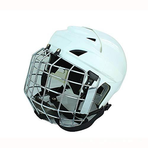 DYM258 Casco Combinado de Hockey, Hockey sobre Hielo Jugador Profesion