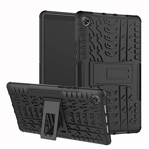 xinyunew Huawei Mediapad M5 8.4 Hülle, Handyhülle Case 360 Grad Ganzkörper Schutzhülle+Panzerglas Schutzfolie Schützend Handys Schut zhülle Tasche Cover Skin mit Ständer für Huawei M5 8.4 Schwarz