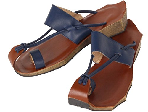 Vogstyle Donna Pantofole Estive Di Stile Boemia Blu