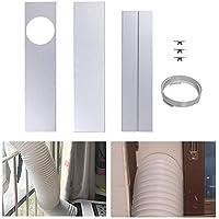MODGS Juego de placas de sellado para ventanas para acondicionadores de aire portátiles, kit de ventanas Juego de ventilación de CA de plástico para puertas corredizas de vidrio y ventanas generous