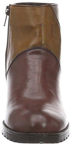 Jenny Damen San Vito-St Kurzschaft Stiefel Mehrfarbig (bordo,cuoio/marrone 65)
