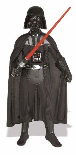 Wars Vader Star Darth Deluxe Kinder Kostüm - Rubie's Star Wars Kinder Deluxe Kostüm Darth Vader Größe M 5 bis 7 Jahre