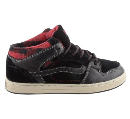 Vans Edgemont, Baskets mode mixte enfant black - red