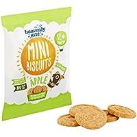 Heavenly Tasty Galletas Mini de Manzana 30g (Pack de 2)