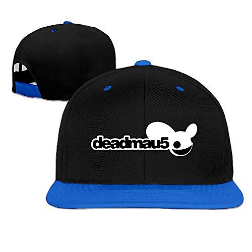 9b60aaaf355bd RAINNY Unisex Deadmau5 Logo Two-Tone Hip Hop Baseball cap Snapback (5  Colors)