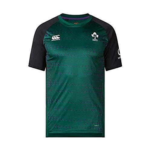 Canterbury Ireland Official 18/19 Vapodri Super Light Camiseta, Infantil, Corcur Purple, 10