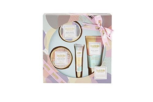 Style & Grace Bubble Boutique Bathing Experience Gift Set 100ml Body Wash + 120ml Body Butter + 120m